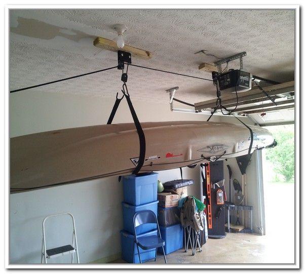 Best ideas about Diy Overhead Garage Storage Pulley System . Save or Pin 17 Best ideas about Overhead Garage Storage on Pinterest Now.