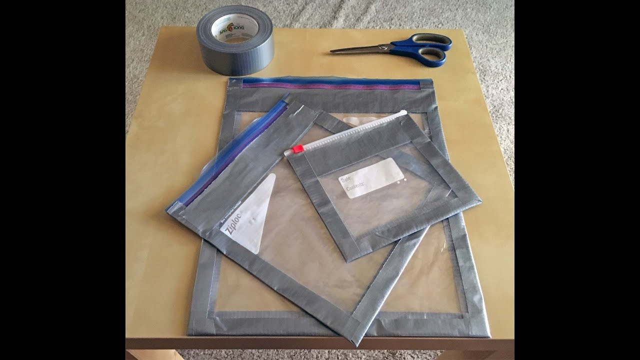 Best ideas about DIY Packing Cubes . Save or Pin DIY Ziploc Reinforced Packing Cube for Ultralight Now.