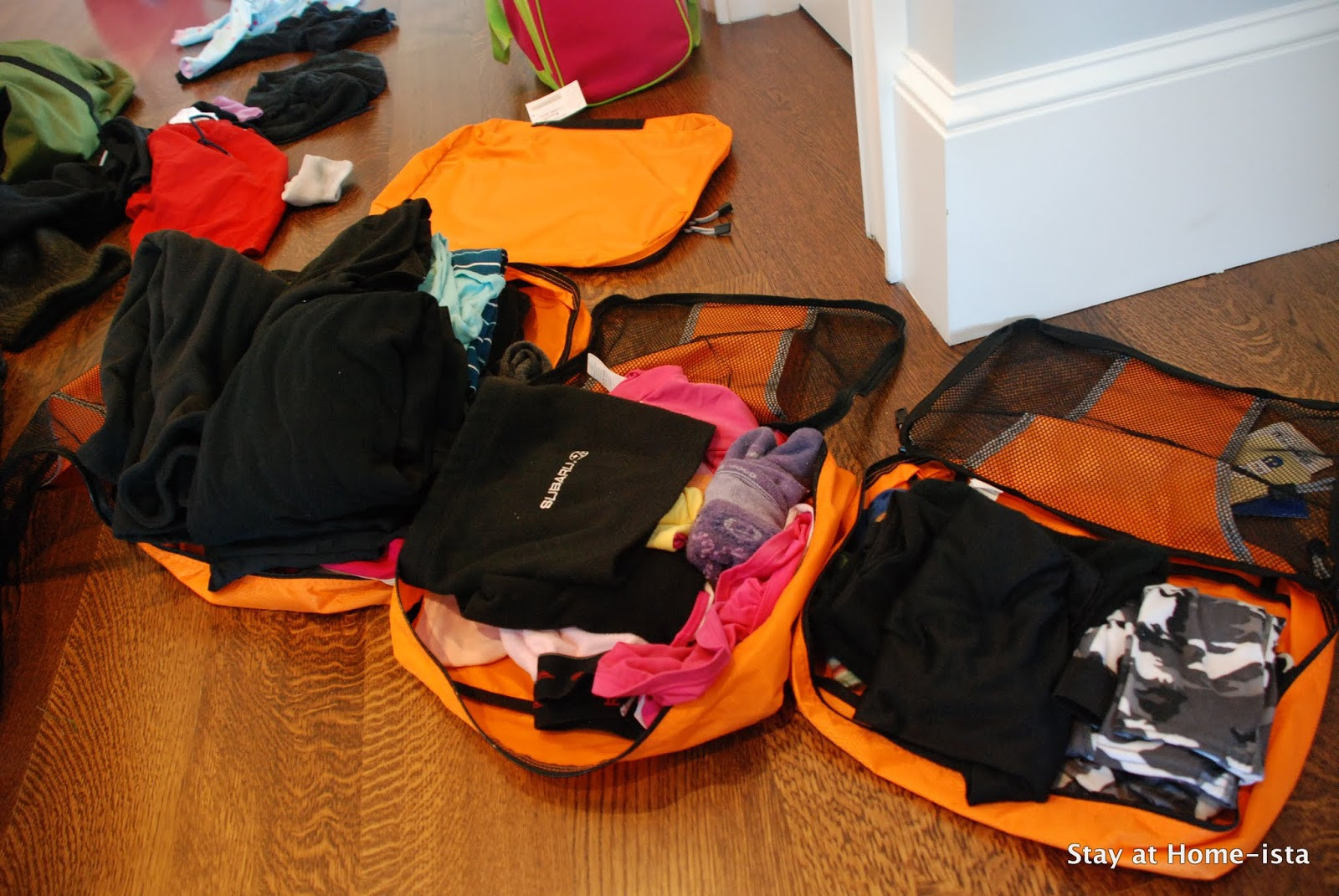 Best ideas about DIY Packing Cubes . Save or Pin Stay at Home ista How to Pack for a Trip with Kids Now.