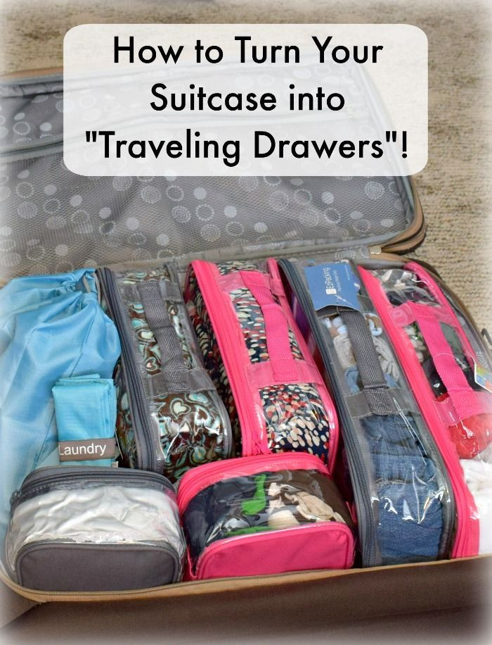Best ideas about DIY Packing Cubes . Save or Pin Packing an Organized Suitcase Travel Now.