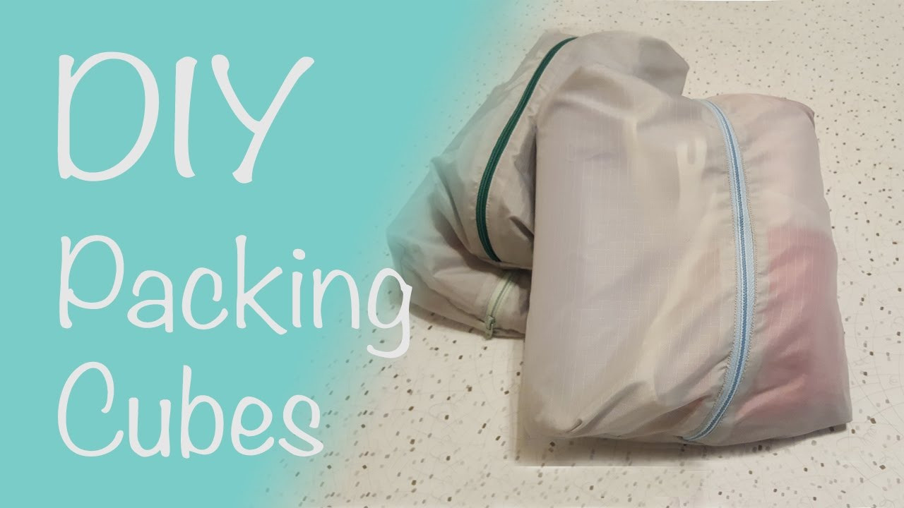 Best ideas about DIY Packing Cubes . Save or Pin DIY Packing Cubes 10 minute Box Bag Tutorial Now.
