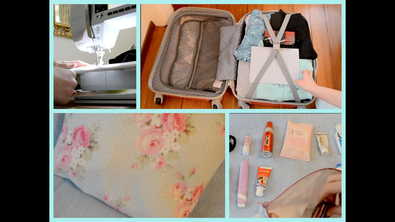 Best ideas about DIY Packing Cubes . Save or Pin Diy packing cube how to not over pack organisation Now.