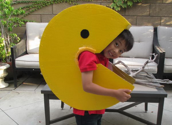Best ideas about DIY Pacman Costume . Save or Pin 50 Creative Homemade Halloween Costume Ideas for Kids Now.