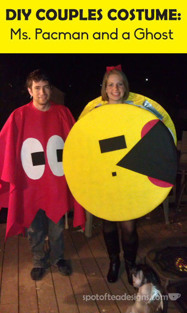 Best ideas about DIY Pacman Costume . Save or Pin DIY Pac Man Couples Halloween Costume Guest Post Now.