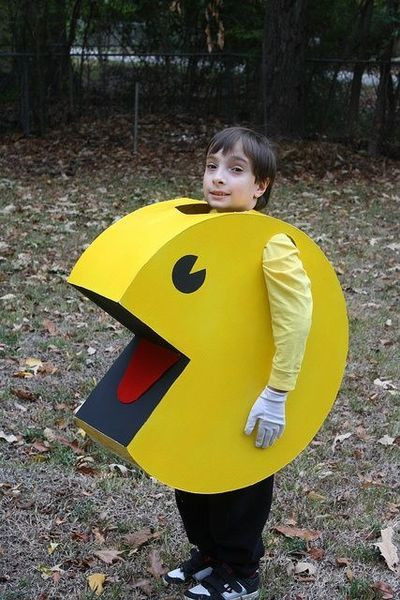 Best ideas about DIY Pacman Costume . Save or Pin kids home made pac man Google Search Now.