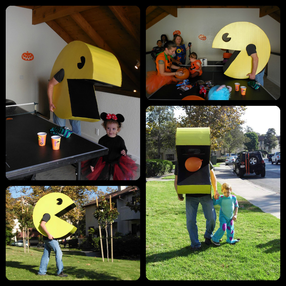 Best ideas about DIY Pacman Costume . Save or Pin This inSane House DIY Pac Man Costume For Under $15 Now.