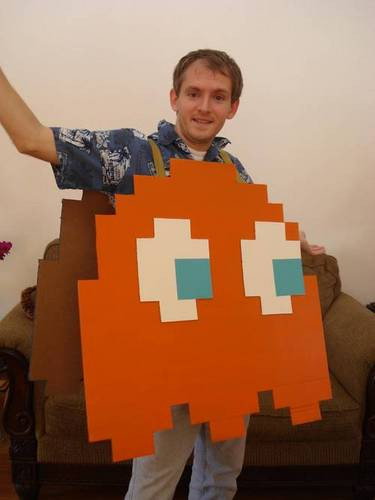 Best ideas about DIY Pacman Costume . Save or Pin 25 Best Geeky Handmade Costumes Dollar Store Crafts Now.