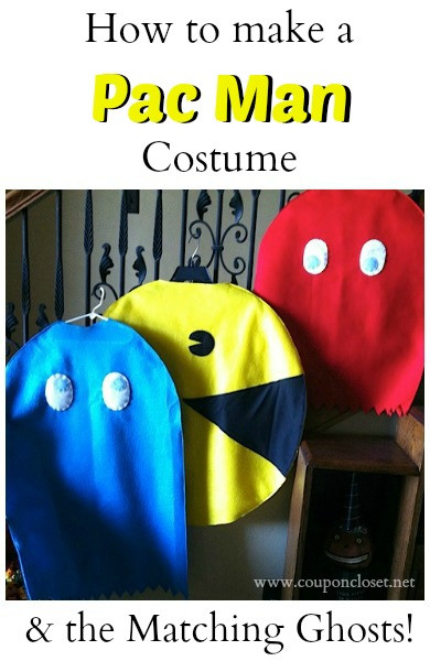 Best ideas about DIY Pacman Costume . Save or Pin How to Make a Pacman Costume and Matching Ghost Costumes Now.
