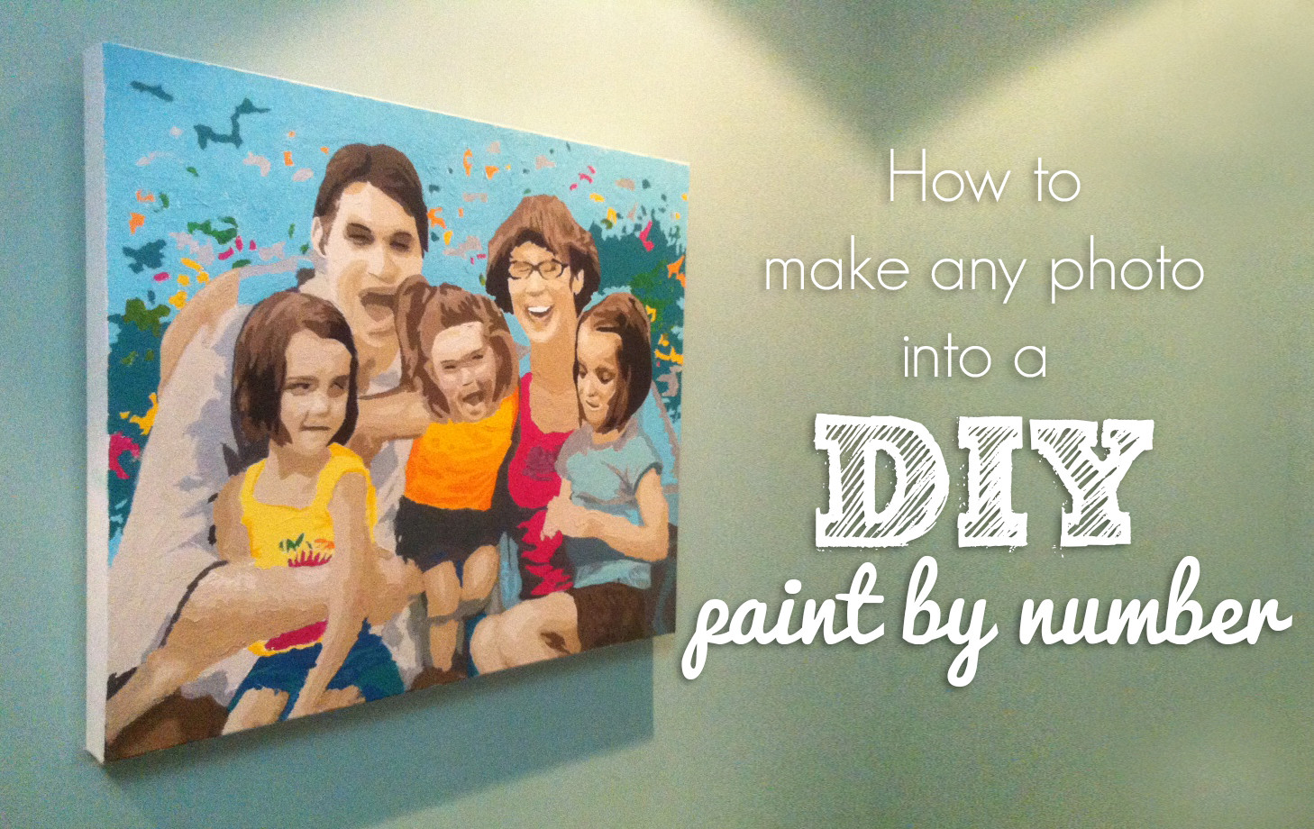 Best ideas about DIY Paint By Numbers . Save or Pin DIY Paint By Number Now.