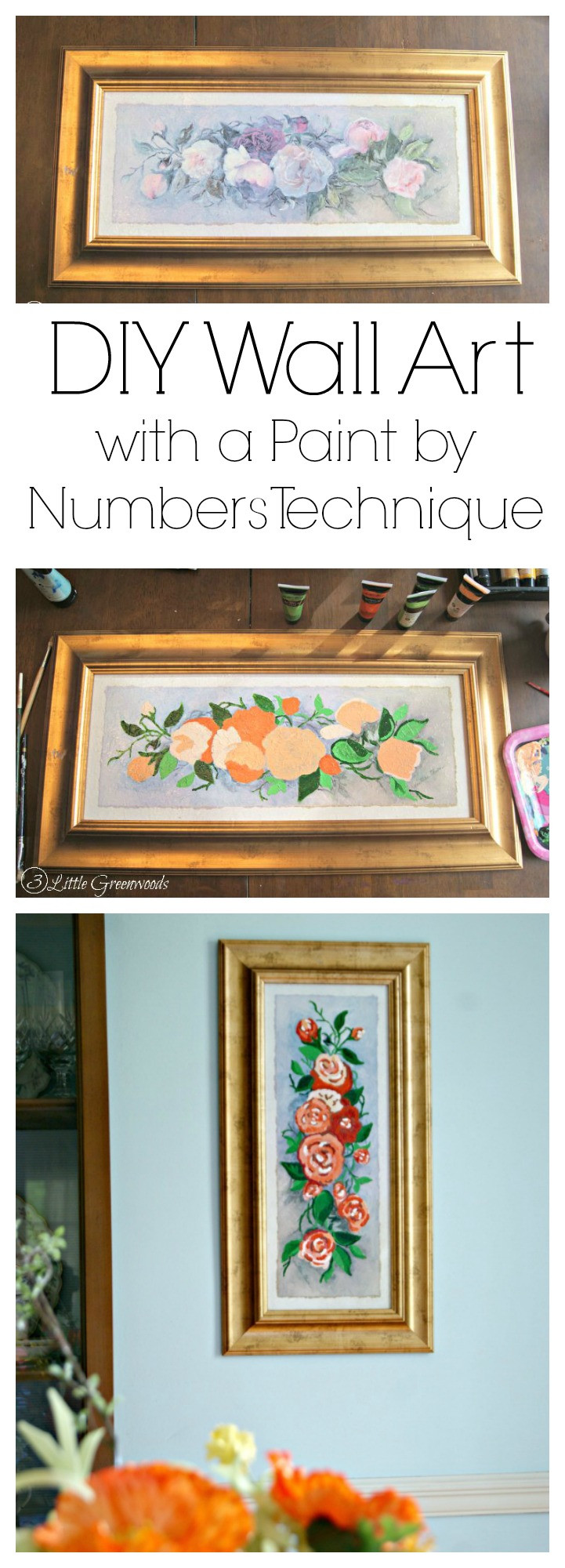 Best ideas about DIY Paint By Numbers . Save or Pin DIY Wall Art with a DIY Paint by Numbers Technique Now.