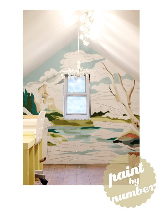 Best ideas about DIY Paint By Numbers . Save or Pin Bison Bantaran Paint by Number Paintings DIY Murals Now.