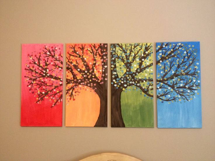Best ideas about DIY Paint Canvas . Save or Pin DIY Easy canvas painting Ideas for Home Now.