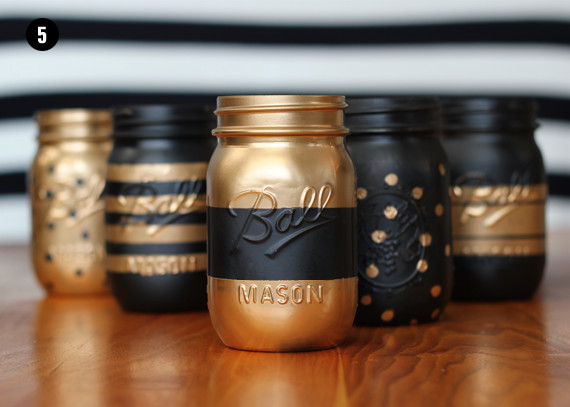 Best ideas about DIY Paint Mason Jars . Save or Pin Bubby and Bean Living Creatively DIY Tutorial Now.