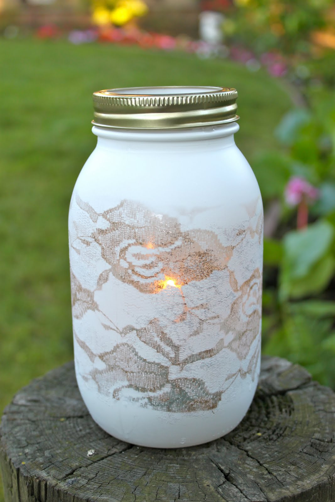 Best ideas about DIY Paint Mason Jars . Save or Pin DIY mason jar crafts guest tutorial Love Stitched Now.