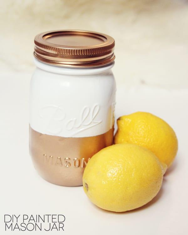 Best ideas about DIY Paint Mason Jars . Save or Pin diy painted mason jar Now.