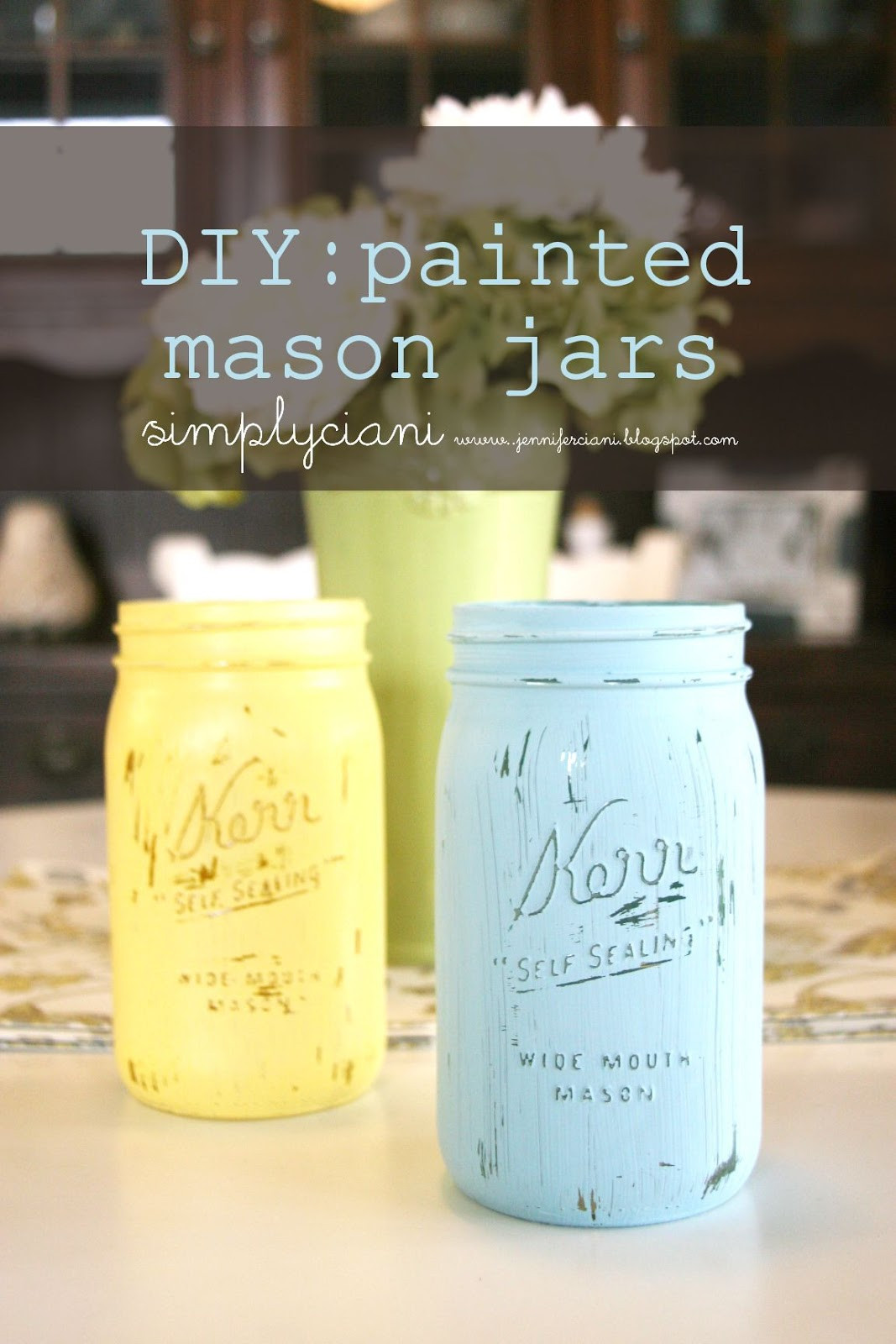 Best ideas about DIY Paint Mason Jars . Save or Pin DIY Tutorials Now.