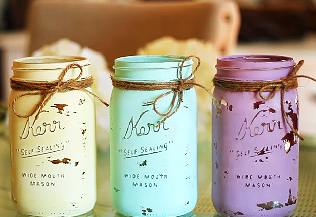 Best ideas about DIY Paint Mason Jars . Save or Pin Mason Jar Crafts How To Chalk Paint Your Mason Jars Now.