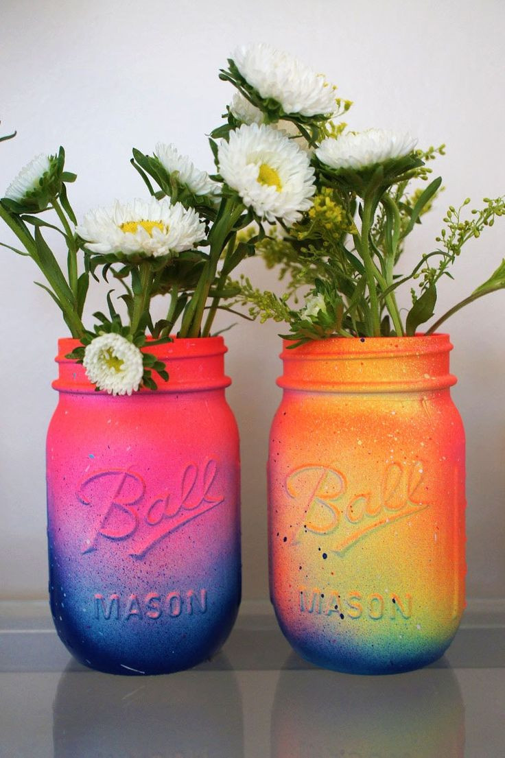Best ideas about DIY Paint Mason Jars . Save or Pin 303 best Room Decor DIY images on Pinterest Now.
