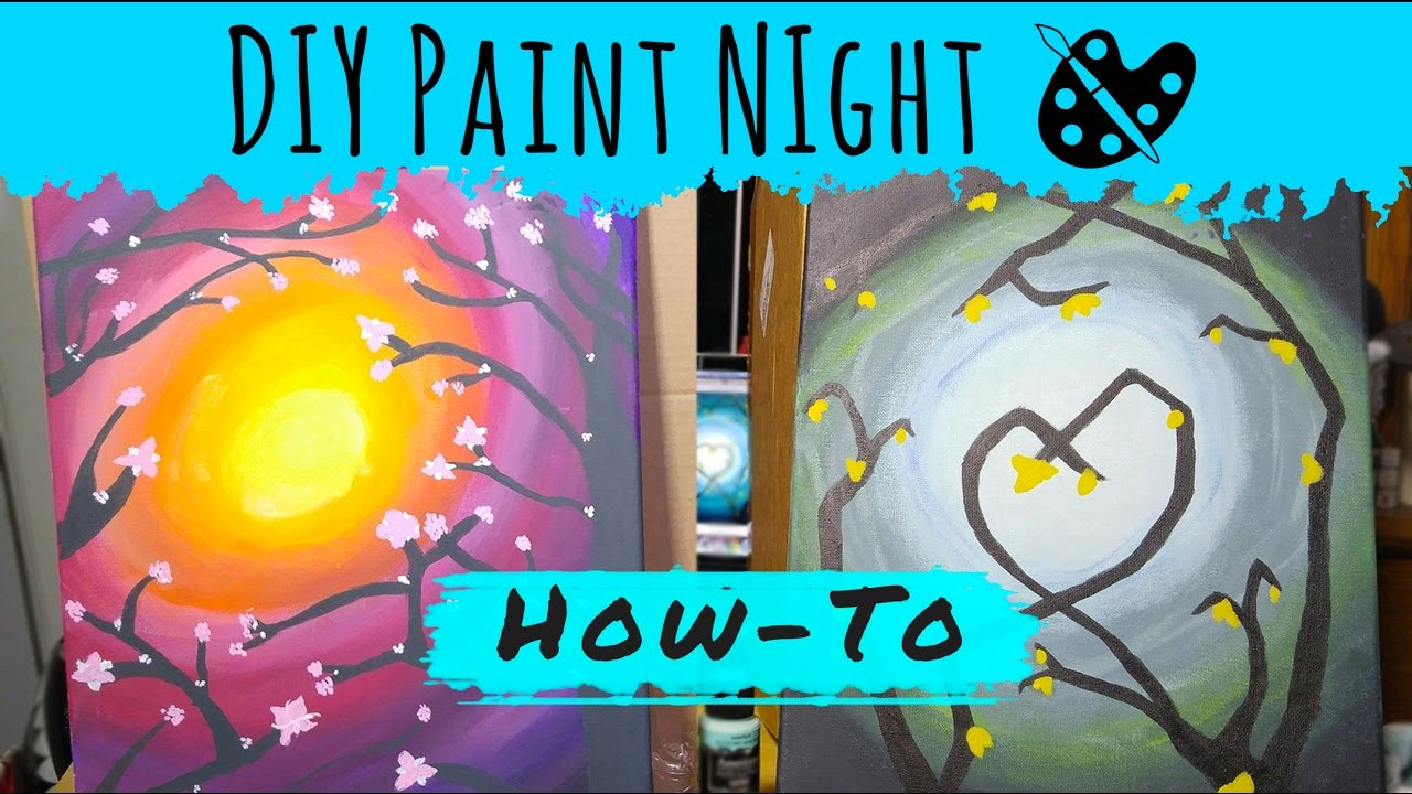 Best ideas about DIY Paint Night At Home . Save or Pin DIY Paint Night Now.