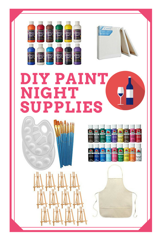 Best ideas about DIY Paint Night At Home . Save or Pin DIY Sip & Paint Night An Artist s Shopping Guide Now.