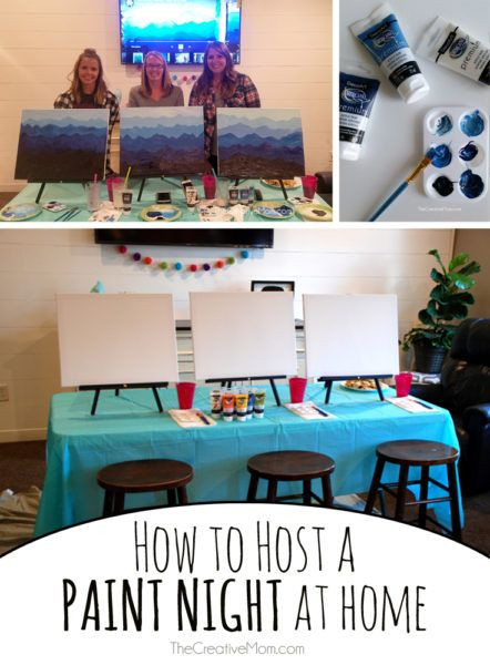 Best ideas about DIY Paint Night At Home . Save or Pin 25 unique Girls night crafts ideas on Pinterest Now.