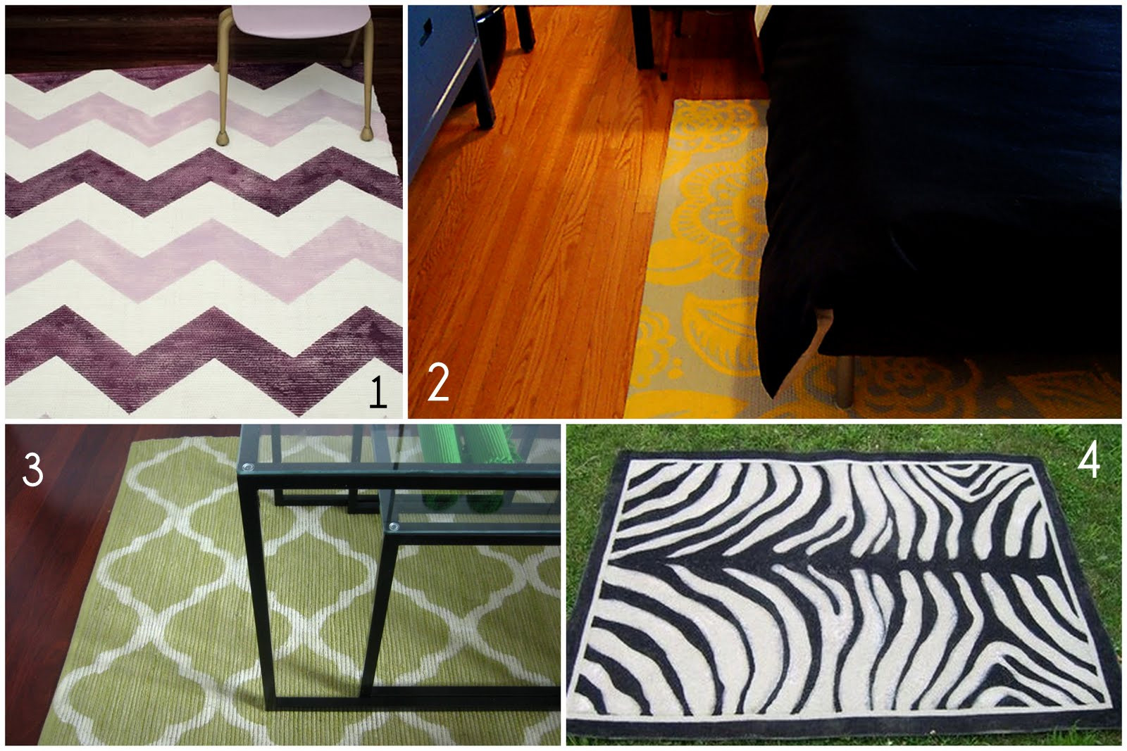 Best ideas about DIY Painted Rug . Save or Pin DIY or Don t Tutorial DIY Painted Rug Now.