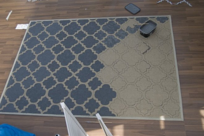 Best ideas about DIY Painted Rug . Save or Pin DIY How to Paint a Sisal Rug Now.