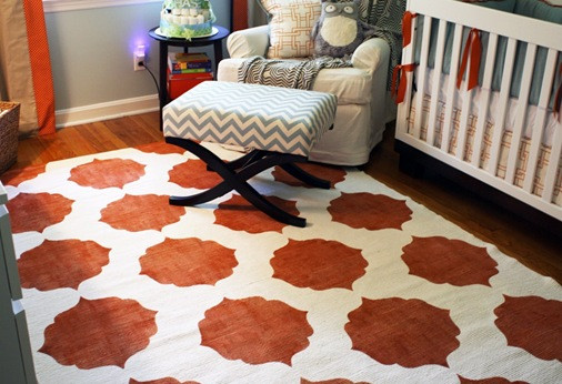 Best ideas about DIY Painted Rug . Save or Pin charm home Chase's Nursery – diy pAINTED iKEA Rug Now.