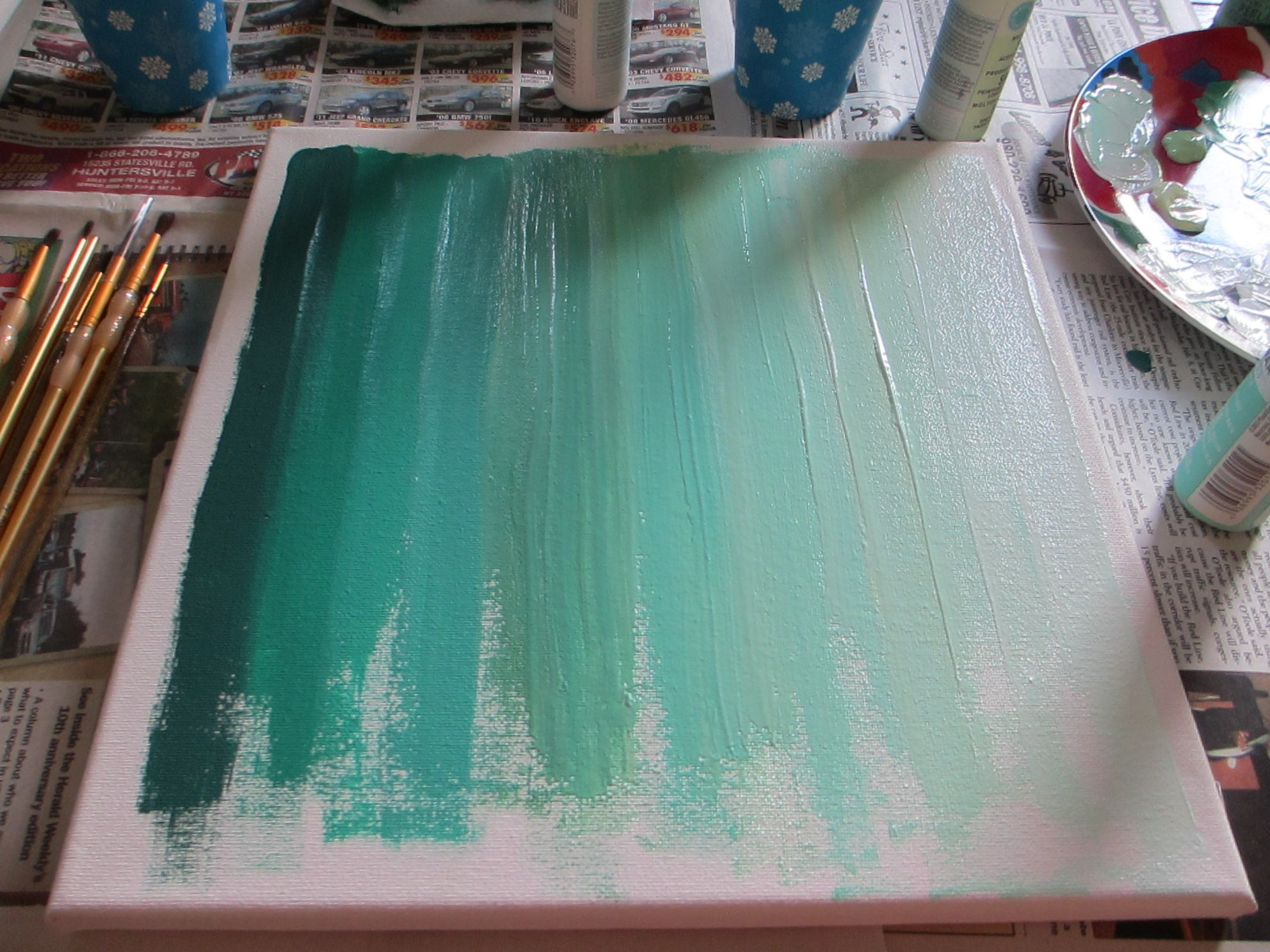 Best ideas about DIY Painting Ideas . Save or Pin Best 25 Diy canvas ideas on Pinterest Now.