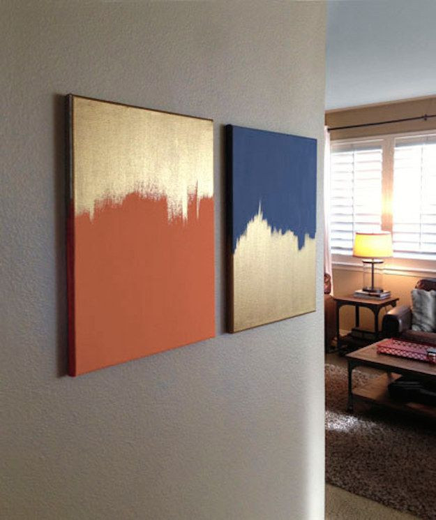 Best ideas about DIY Painting Ideas . Save or Pin 20 DIY Painting Ideas for Wall Art Pretty Designs Now.