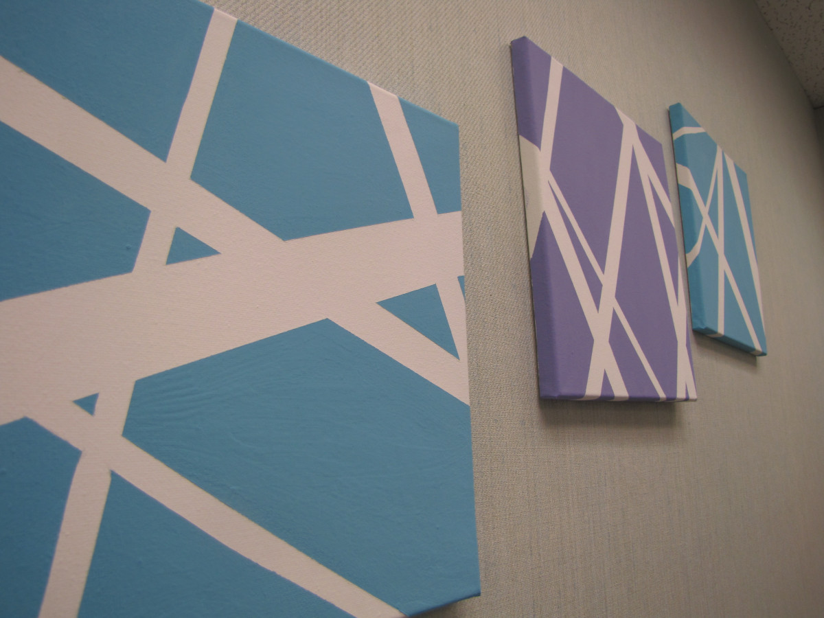 Best ideas about DIY Painting Ideas . Save or Pin DIY Canvas Wall Art Now.