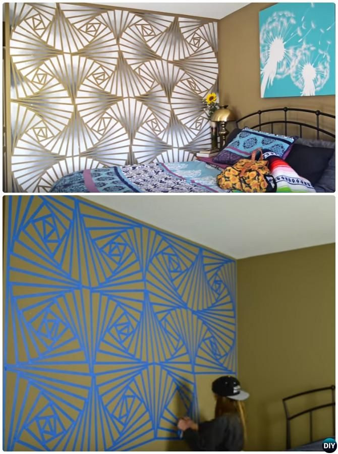 Best ideas about DIY Painting Wall . Save or Pin 12 DIY Patterned Wall Painting Ideas and Techniques Now.