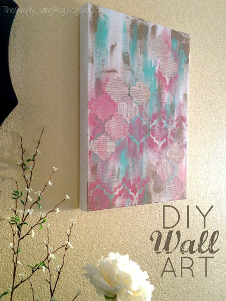 Best ideas about DIY Painting Wall . Save or Pin Top 10 Best DIY Paintings Top Inspired Now.