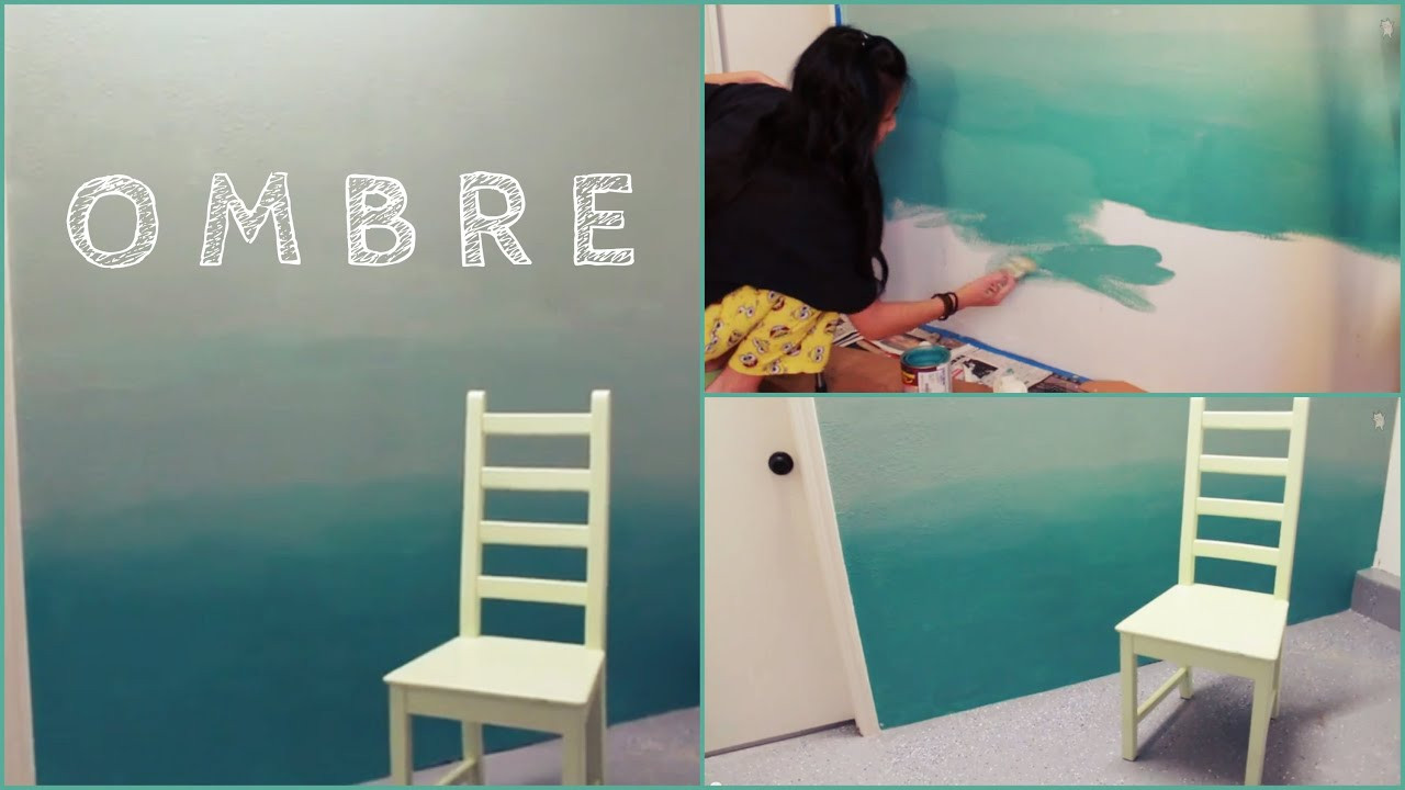 Best ideas about DIY Painting Wall . Save or Pin DIY Ombre Wall Now.