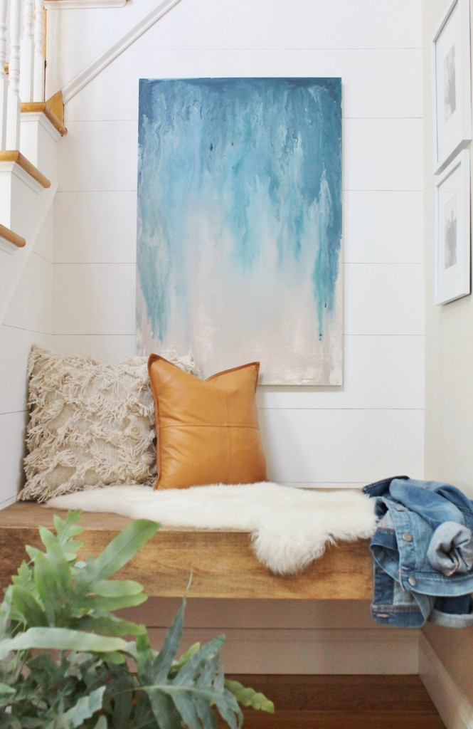 Best ideas about DIY Painting Wall . Save or Pin 13 Creative DIY Abstract Wall Art Projects Lolly Jane Now.