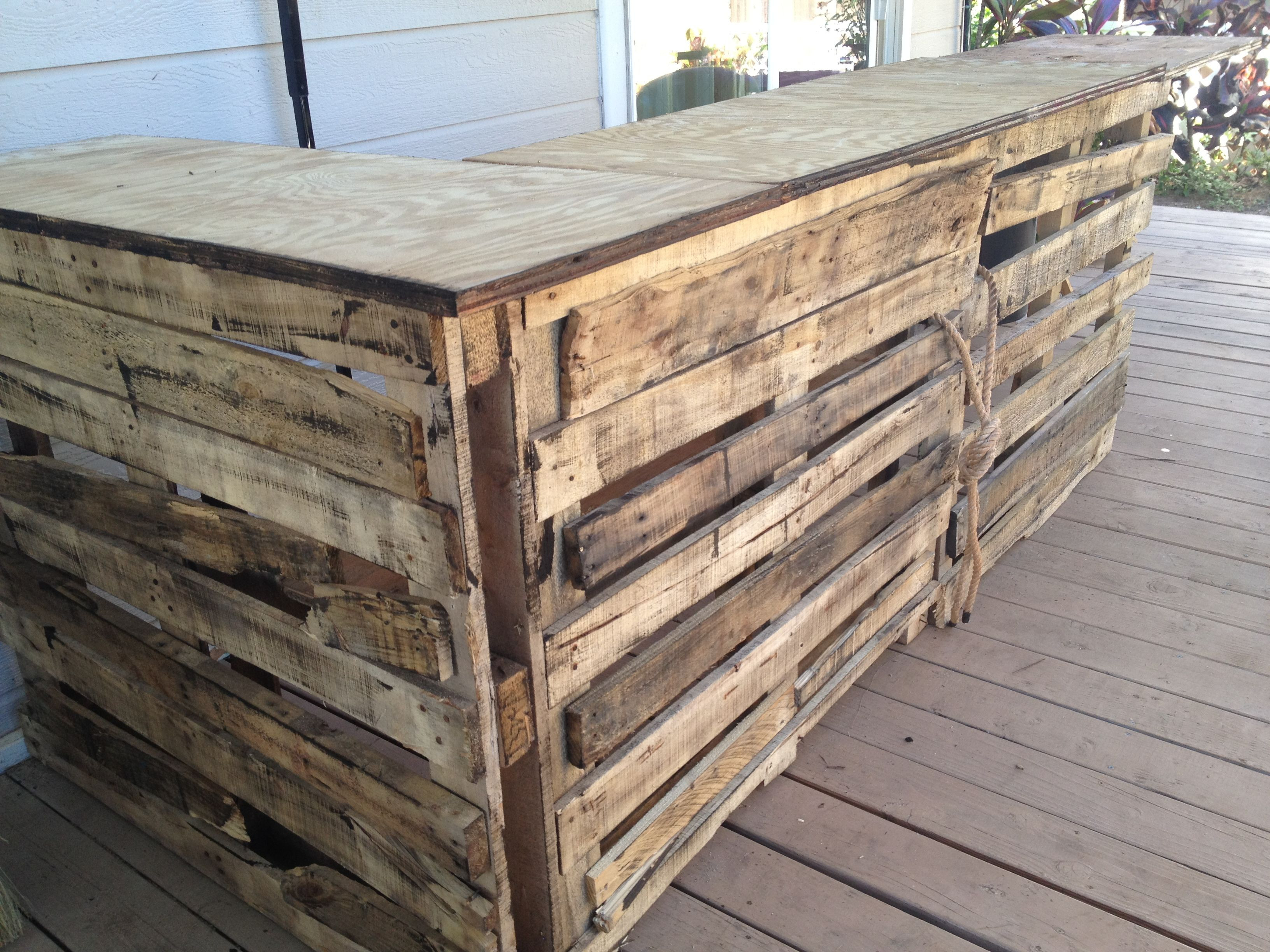 Best ideas about DIY Pallet Bar . Save or Pin Diy Pallet Bar Ideas And Projects Now.