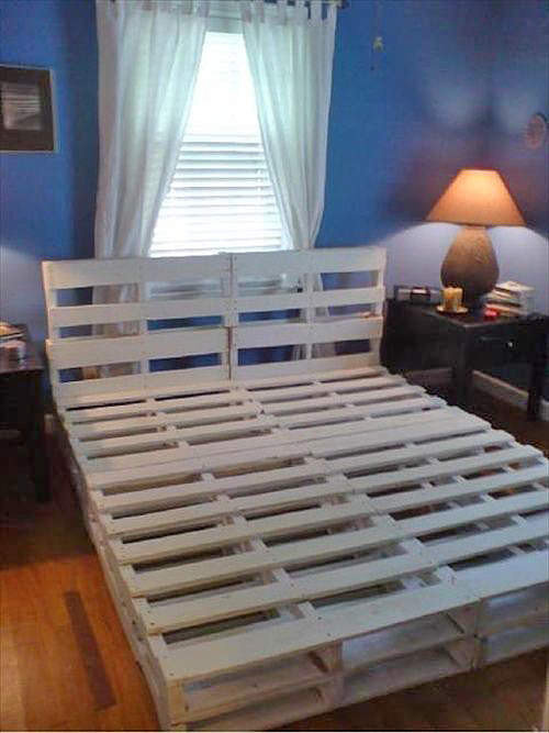 Best ideas about DIY Pallet Bed Frames . Save or Pin 16 Gorgeous DIY Bed Frames • The Bud Decorator Now.