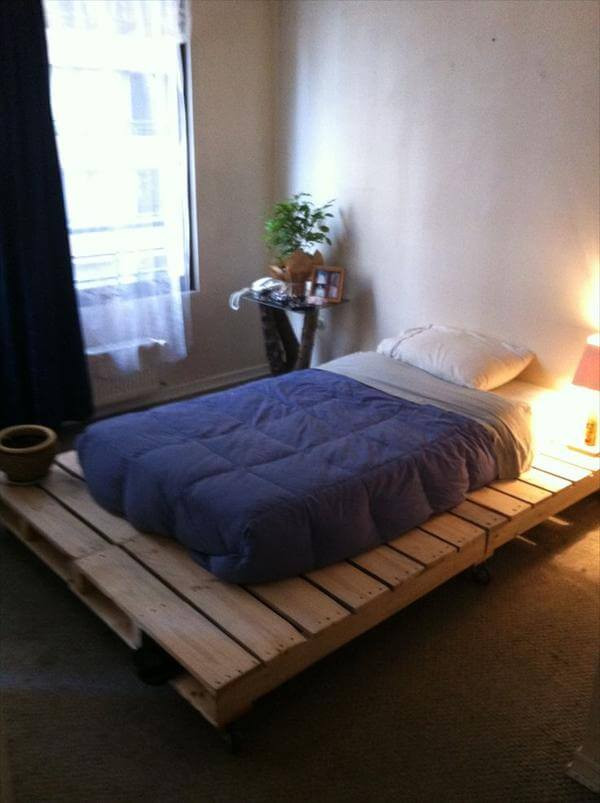 Best ideas about DIY Pallet Bed Frames . Save or Pin DIY 20 Pallet Bed Frame Ideas Now.