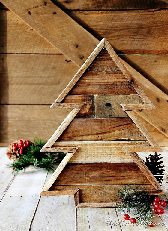 Best ideas about DIY Pallet Christmas Trees . Save or Pin 13 Cool DIY Recycled Pallet Christmas Trees Shelterness Now.