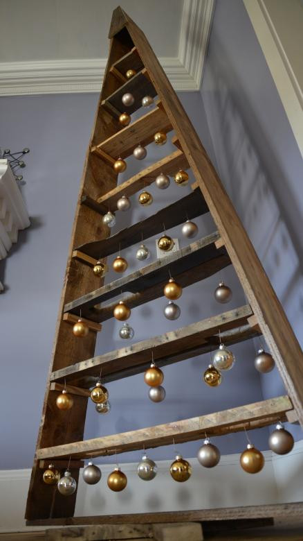 Best ideas about DIY Pallet Christmas Trees . Save or Pin We made a DIY pallet Christmas tree Now.