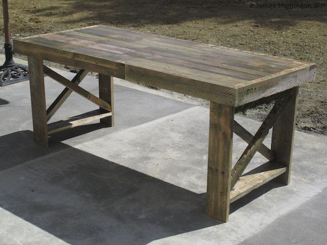 Best ideas about DIY Pallet Dining Table . Save or Pin 13 Easy And Cost Effective DIY Pallet Dining Tables Now.