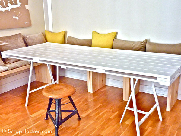 Best ideas about DIY Pallet Dining Table . Save or Pin 11 DIY Dining Tables to Dine in Style Now.