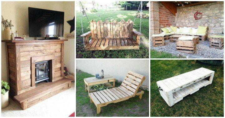 Best ideas about DIY Pallet Furniture Ideas . Save or Pin 125 Awesome DIY Pallet Furniture Ideas Easy Pallet Ideas Now.