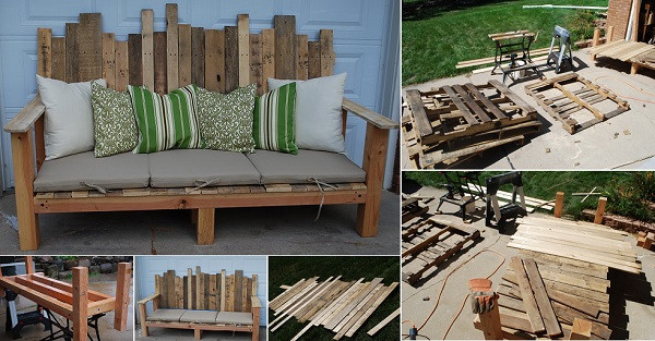 Best ideas about DIY Pallet Outdoor Furniture . Save or Pin 50 Wonderful Pallet Furniture Ideas and Tutorials Now.