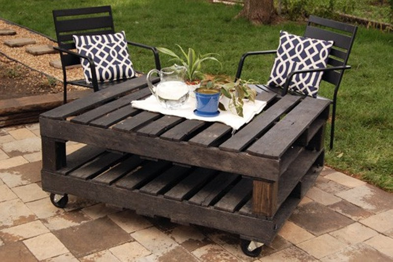 Best ideas about DIY Pallet Outdoor Furniture . Save or Pin 40 Creative Pallet Furniture DIY Ideas And Projects Now.