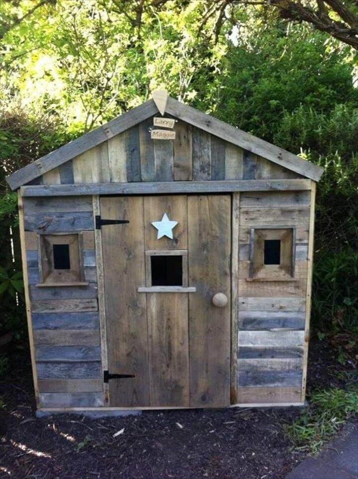 Best ideas about DIY Pallet Playhouse Plans . Save or Pin 12 DIY Upcycled Pallet Projects Try out at Home Now.