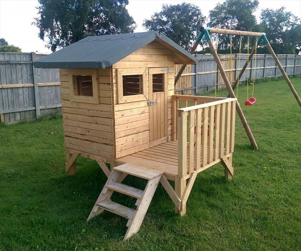 Best ideas about DIY Pallet Playhouse Plans . Save or Pin no cost pallet playhouse Pallets tips Now.