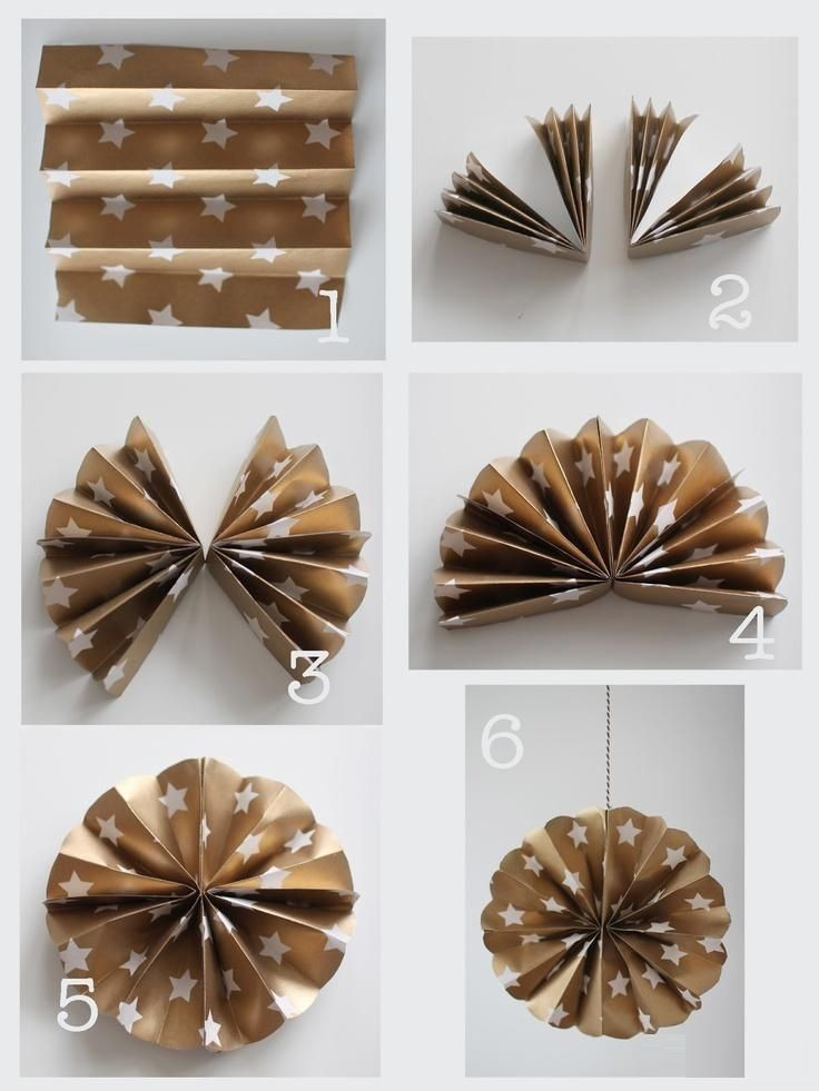 Best ideas about DIY Paper Christmas Decorations . Save or Pin DIY Paper Christmas Ornament s and Now.