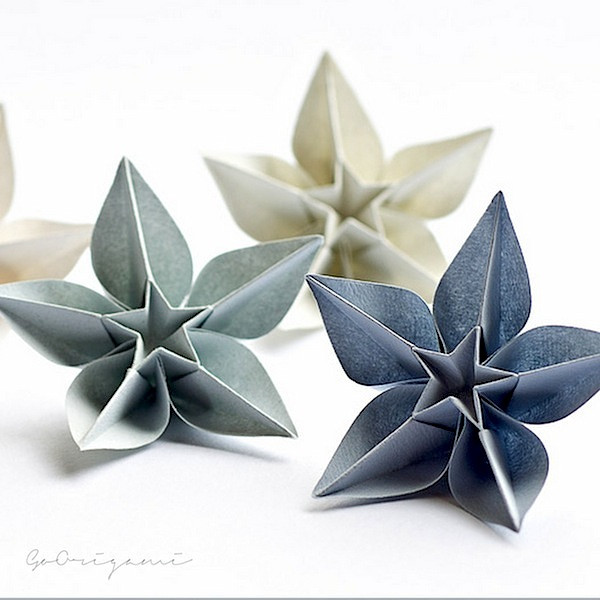 Best ideas about DIY Paper Christmas Decorations . Save or Pin Picture DIY Origami Ornaments Now.