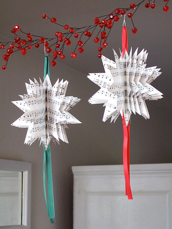 Best ideas about DIY Paper Christmas Decorations . Save or Pin 17 Easy Last Minute DIY Christmas Decorations Style Now.